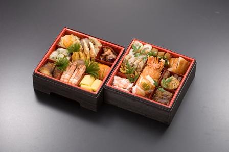 中国風おせち料理2段