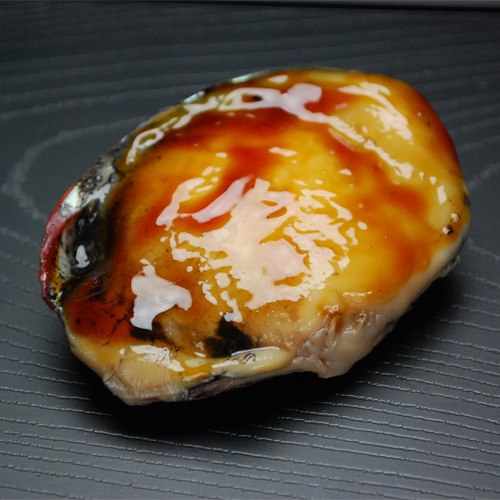国産鮑の煮貝1個