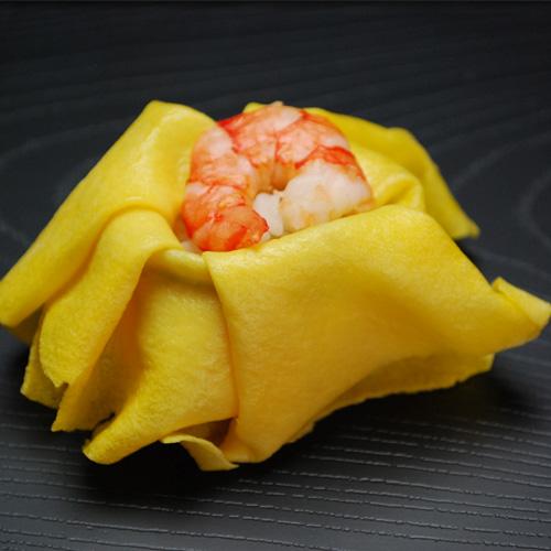 茶巾鮨1個