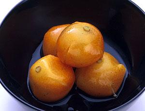 金柑蜜煮 1パック 3ヶ入り